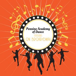 Pennine Academy of Dance On Broadway logo