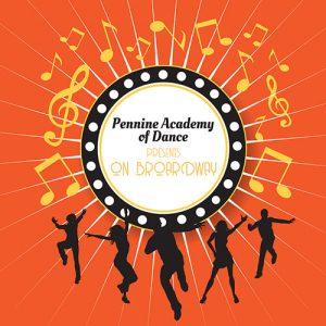 Pennine Academy of Dance On Broadway logo