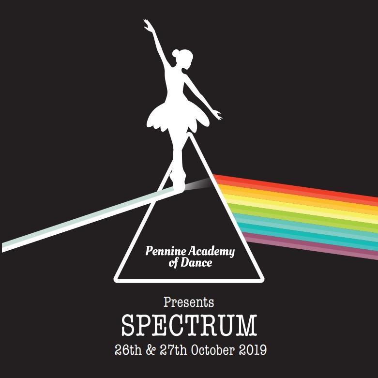 Spectrum logo - 2019 dance show